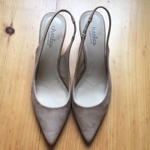 Charles by charles david leather pumps.